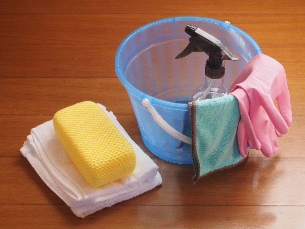 キッチンの拭き掃除で必要な物